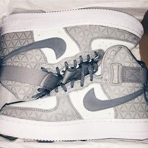Nike Air Force 1 High | Grey Texture